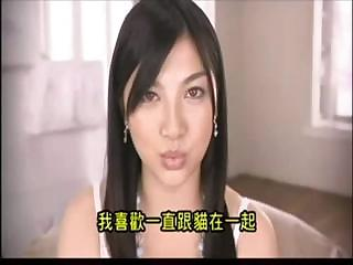 Beautiful Asian cutie shows off her body and sucks and fucks